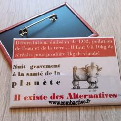 Badge Alternatives à la viande