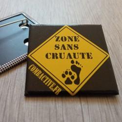 Badge Zone sans cruauté