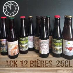 Pack de 12 bières 25cl