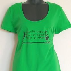 Tee shirt Révolution Animale